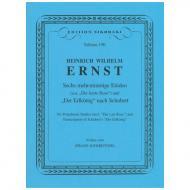 Ernst, H. W.: 6 mehrstimmige Etüden & Der Erlkönig (nach Schubert)