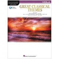 Great Classical Themes for Viola (+Online Audio)