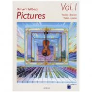 Hellbach, D: Pictures Vol. 1 (+CD)
