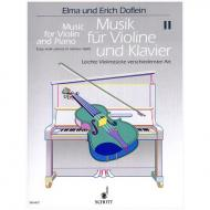 Musik für Violine und Klavier – Band 2