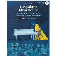 Emonts: Europäische Klavierschule Band 3 (+Online Audio)