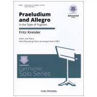 Kreisler, F.: Präludium und Allegro (+Online Audio)