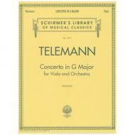 Telemann, G. Ph.: Violakonzert G major