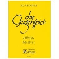 Schloder, J.: Das Geigenspiel Band 1 Heft 2