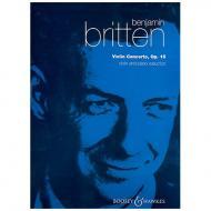 Britten, B.: Violinkonzert Op. 15