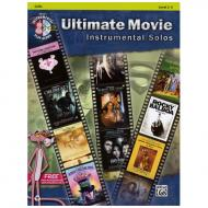 Ultimate Movie Instrumental Solos for Cello (+MP3-CD)