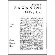 Paganini, N.: 24 Capricen