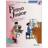 Heumann, H.-G.: Piano Junior – Klavierschule Band 2 (+Online Material)