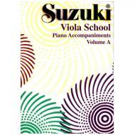 Suzuki Viola School Vol.1 & 2 – Klavierbegleitung