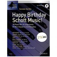 Gerlitz, C.: Happy Birthday,  Schott Music! (+Online Audio)