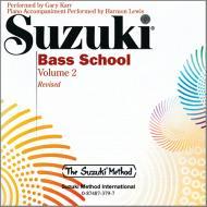 Suzuki Bass School Vol. 2 – CD