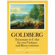 Goldberg, J. G.: Triosonate C-Dur