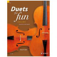 Preußer, E.: Duets for fun – Cellos