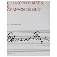 Egar, E.: Chanson de nuit & Chanson de matin Op. 15 G-Dur