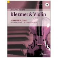 Johow, J.: Klezmer & Violin (+Online Audio)