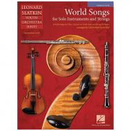 Slatkin, L.: World Songs for Solo Instruments and Strings – Partitur
