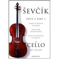 Sevcik, O.: Schule der Bogentechnik für Cello op. 2 Heft 2