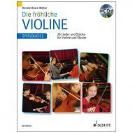 Bruce-Weber, R.: Die fröhliche Violine Band 2 – Spielbuch (+CD)
