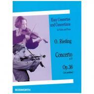 Rieding, O.: Violinkonzert Op. 36 D-Dur