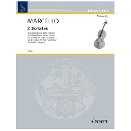 Marcello, B.: 2 Sonatas Nr. 1 F-Dur und Nr. 4 g-Moll