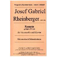 Rheinberger, J.: Sonate g-Moll
