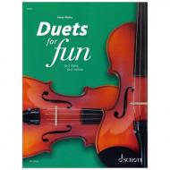 Mohrs, P.: Duets for fun –  for 2 Violins