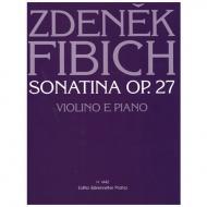 Fibich, Z.: Sonatine Op. 27 d-Moll