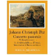 Pez, J. Chr.: Concerto pastorale - Weihnachtskonzert
