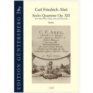 Abel, C. F.: 6 Quartette Op. 12