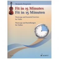Bergmann, B.: Fit in 15 Minuten