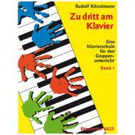 Kitzelmann, R.: Zu dritt am Klavier Band 1