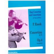 Essek, P.: Violinkonzert Op. 4 G-Dur