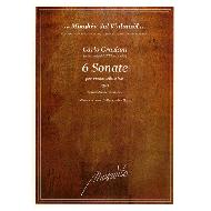 Graziani, C.: 6 Sonate Op. 3