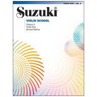 Suzuki Violin School Vol. 8