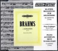 Brahms, J.: Violasonaten Op. 120/1-2 f-Moll und Es-Dur Compact-Disc CD