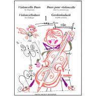 Pejtsik, A.: Violoncelloduos für Anfänger
