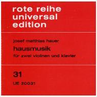 Hauer, J. M.: Hausmusik