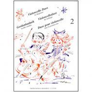 Pejtsik, A.: Violoncelloduos für Anfänger Band 2