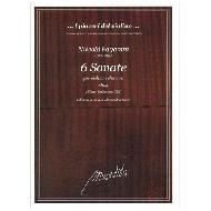 Paganini, N.: 6 Sonate per violino e chitarra Op. 2
