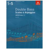 ABRSM: Double Bass Scales And Arpeggios – Grade 1-5 (From 2012)