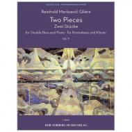 Glière, R.: 2 Stücke Op. 9 Intermezzo – Tarantella