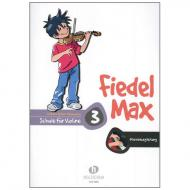 Holzer-Rhomberg, A.: Fiedel-Max für Violine Schule 3 – Klavierbegleitung