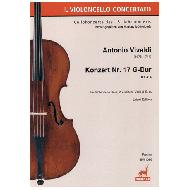 Vivaldi, A.: Konzert Nr. 17 RV414 G-Dur - Partitur