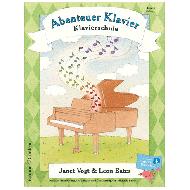Vogt / Bates: Abenteuer Klavier Band 3 (+Online)