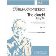 Castelnuovo-Tedesco, M.: Streichtrio Op. 147