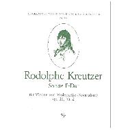 Kreutzer, R.:  Sonate F-Dur op.16,2 für Violine und Violoncello (Kontrabass)