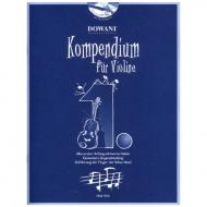 Kompendium für Violine – Band 1 (+CD)