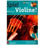 Elst, J. v.: Spiel Violine Band 1 (+ 2 CDs)