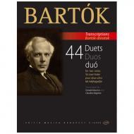 Bartók, B.: 44 Duets Sz. 98