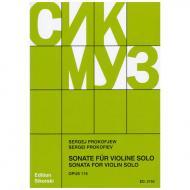 Prokofjew, S.: Violinsonate Op. 115